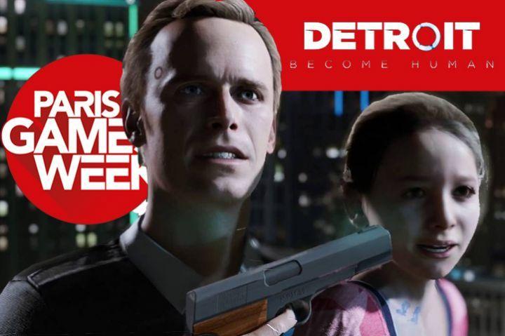 PGW 2017 : Detroit : Become Human, une très belle surprise