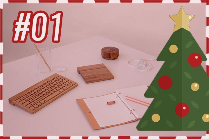 #RotekAdvent : Orée, un clavier en bois fait à la main !