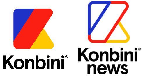 Comparaisons des logos Konbini & Konbini News