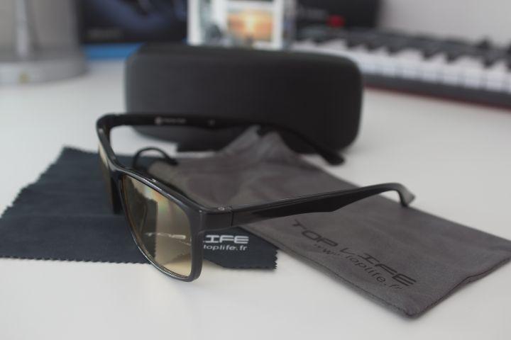 Les lunettes anti-lumière bleue Top Life, le remède contre le mal de crâne devant les écrans !