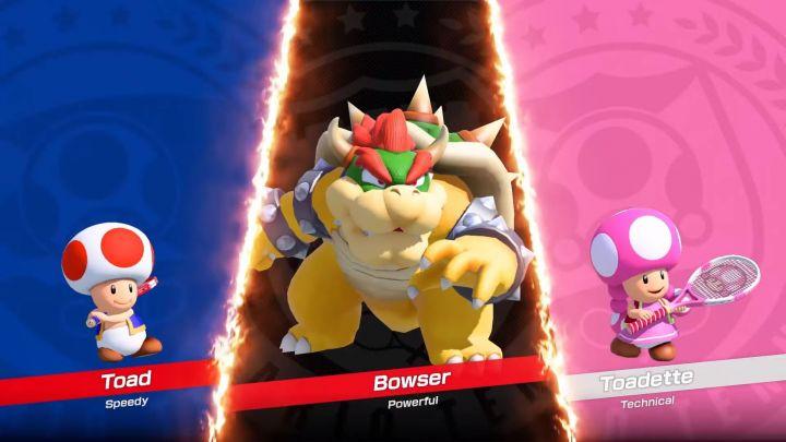 Personnages jouables de Mario Tennis Aces