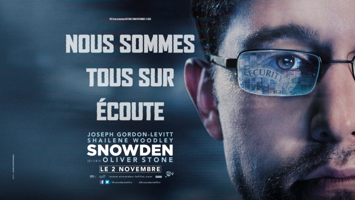 Snowden : le biopic diffusé ce soir sur C8 à partir de 21h05