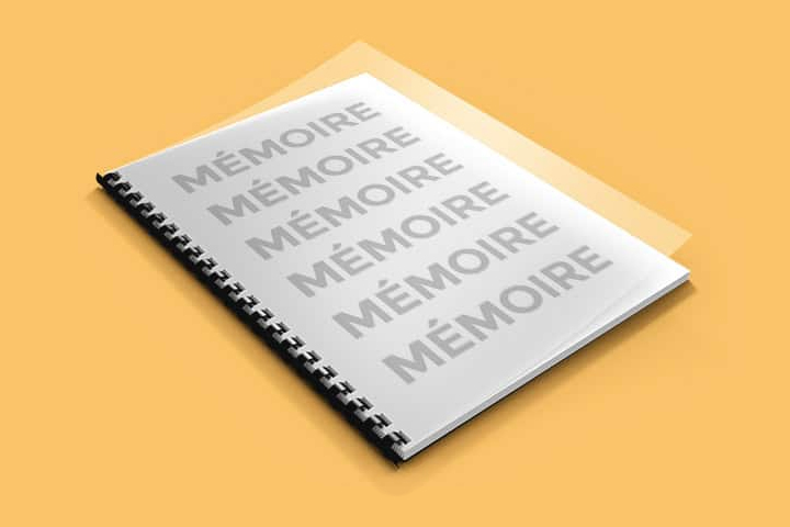 imprimer son mémoire