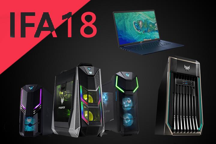IFA 2018 : de nouveaux PC chez Acer