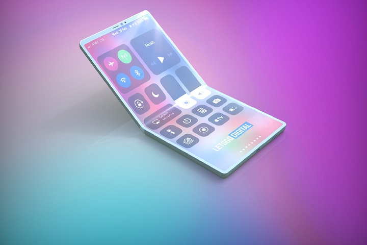Apple a déposé un brevet d'écran pliable d'iPhone
