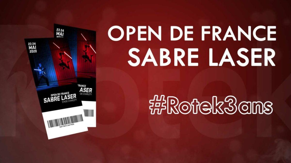 Un combat de sabre laser à Paris ! – Open de France