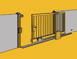 Accessoires Pour Portail Coulissant Autoportant Et Battant