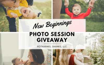 2019 New Beginnings Photo Session Giveaway