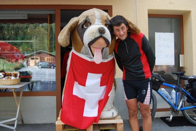 St Bernard Dog and Ronan 2