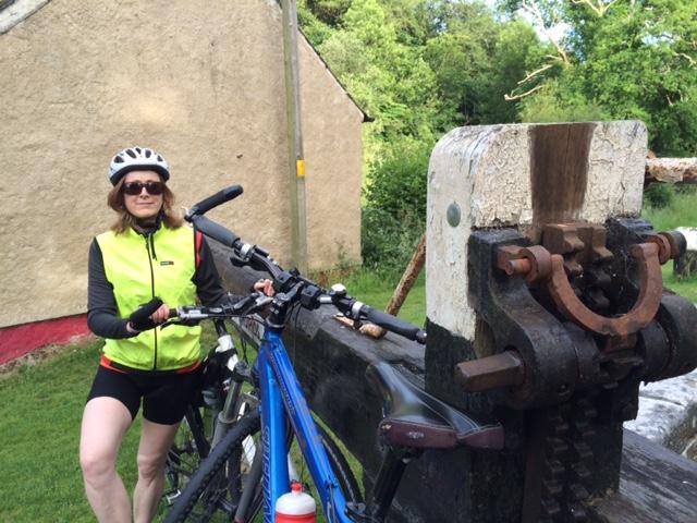 Mary at Ballytiglea Lock