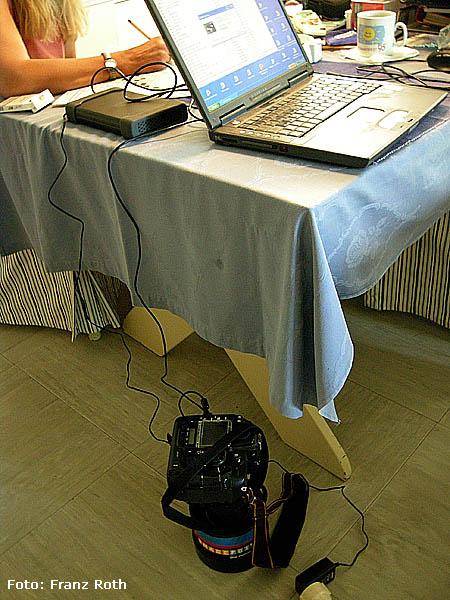 Fotos auf Laptop überspielen