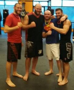 MMA, training 04.2014