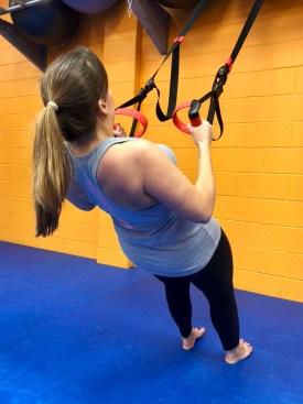 Kick Fit TRX straps