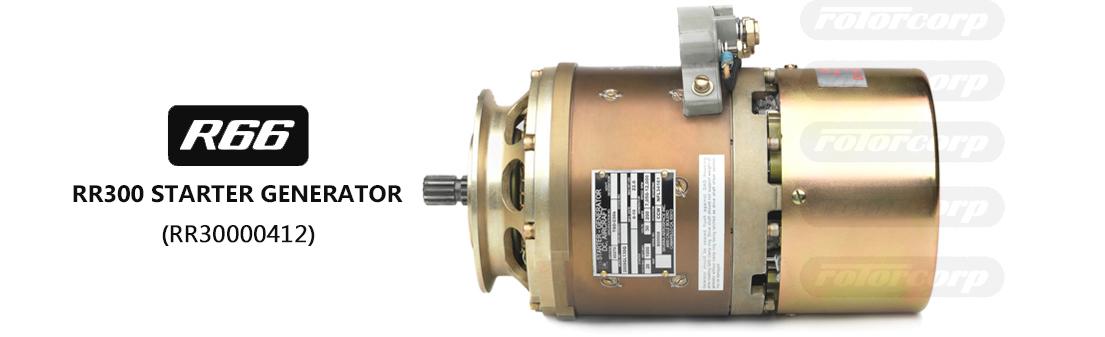 RR30000412 Starter Generator RR300