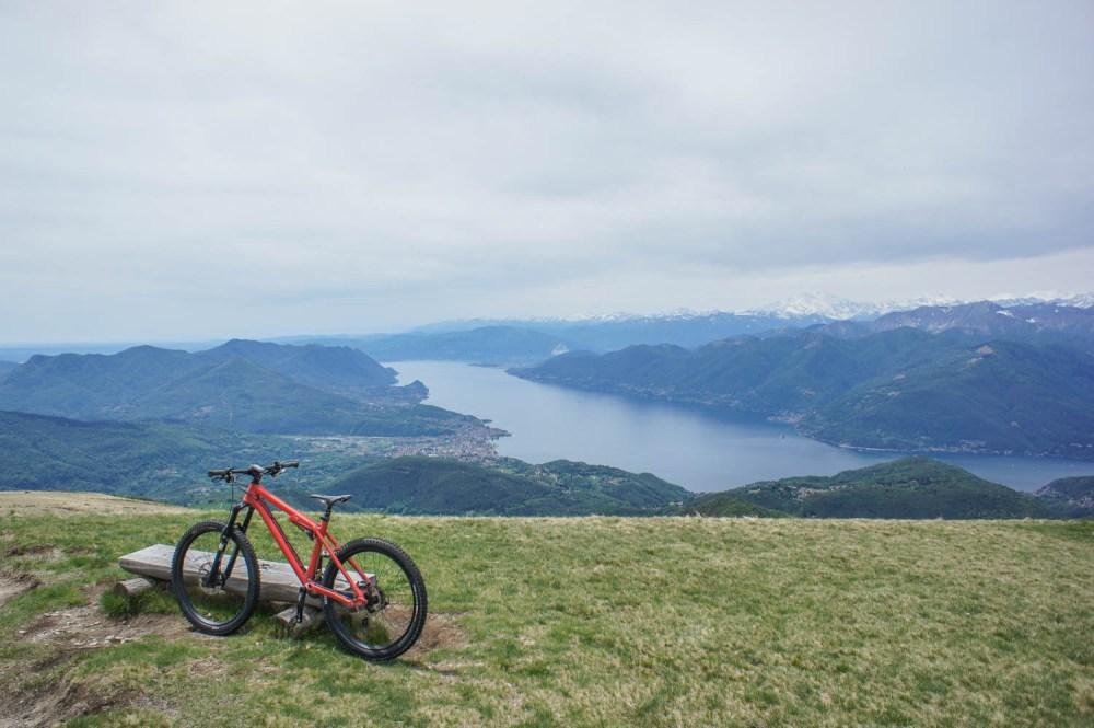Monte Lema - Bike, Luino, Lago Maggiore