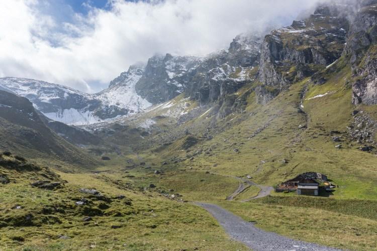 Aufstieg zur Pizolhütte