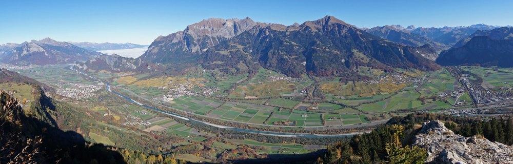 Panorama vom Pizalun