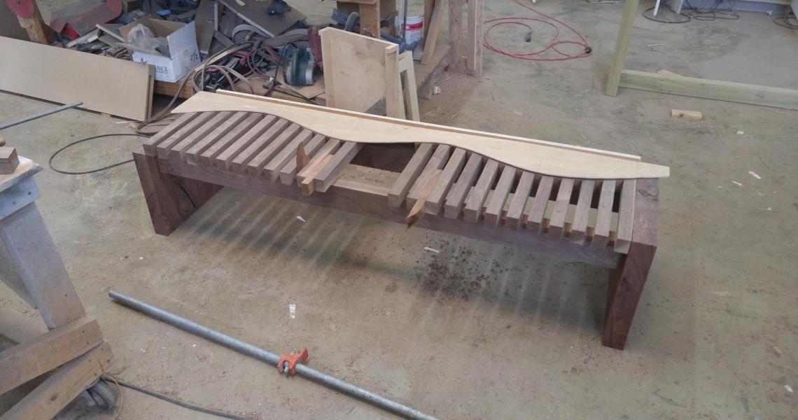 Custom Furniture Update: A Bench is Born