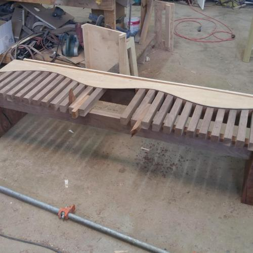Custom Furniture Update: A Bench is Born