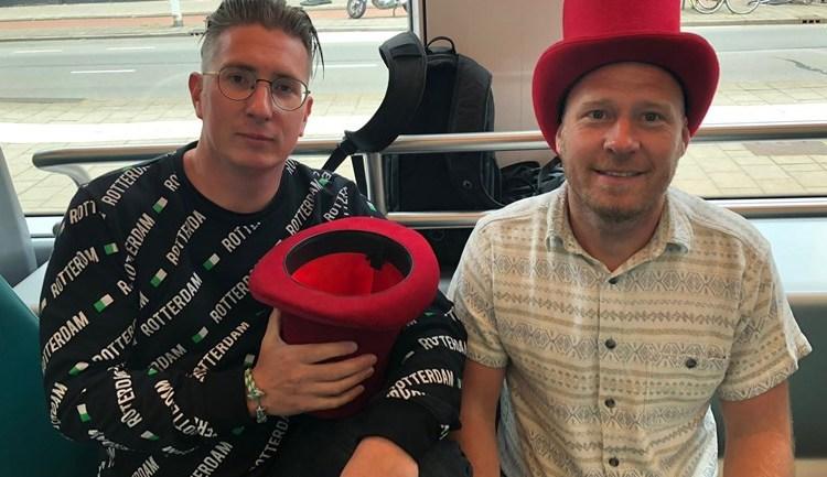Danny en Wesley Koring RTV