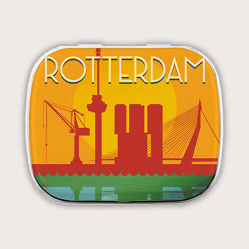 Rotterdams mintblikje met pepermuntjes