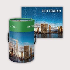 Leuke Rotterdamse legpuzzel Rotterdam met 108 stukjes