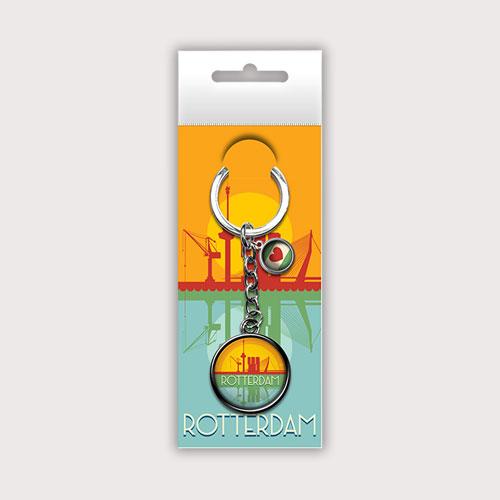 Rotterdam Sleutelhanger met amuletten