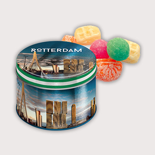 Rotterdams snoepblik met oud-Hollandse snoepmix