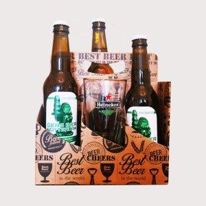 Pakket Gers bier met herdenkingsglas '50 jaar Marshallhulp'