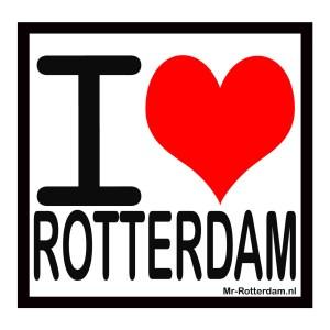 Rotterdam magneetsticker, i love Rotterdam, liefde voor rotterdam, rotterdam souvenir, rotterdam cadeau, rotterdam kado, relatiegeschenk rotterdam, rotterdam