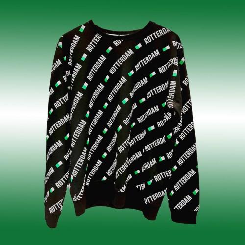feyenoord, rotterdam trui. rotterdam sweater, i love rotterdam, 010 isn't just a code, rotterdam zuid, rotterdam noord, rotterdam west, rotterdam oost, groen wit groen, trui met rotterdam, rotterdam shirt