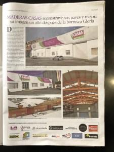 Rótulos Maderas Casas Alcorisa