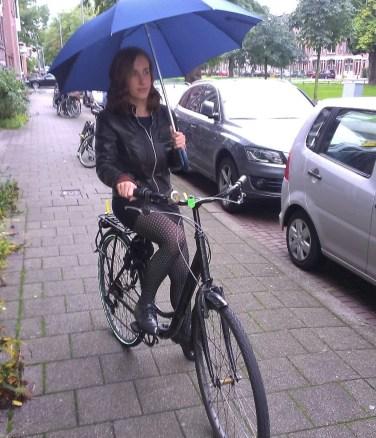 parapluie - vélo