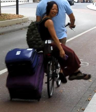 valise - vélo