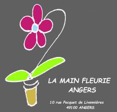 la main fleurie angers logo