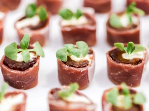 Who knew holiday party catering could look (and taste) this good! Photo by Lieb Photographic LLC