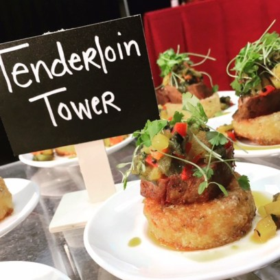 Tenderloin Tower – Your event guests will definitely remember this one!