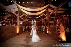 A happy ROUGE couple sharing their first dance! --- Photo courtesy of Jennifer Rotz Photography.