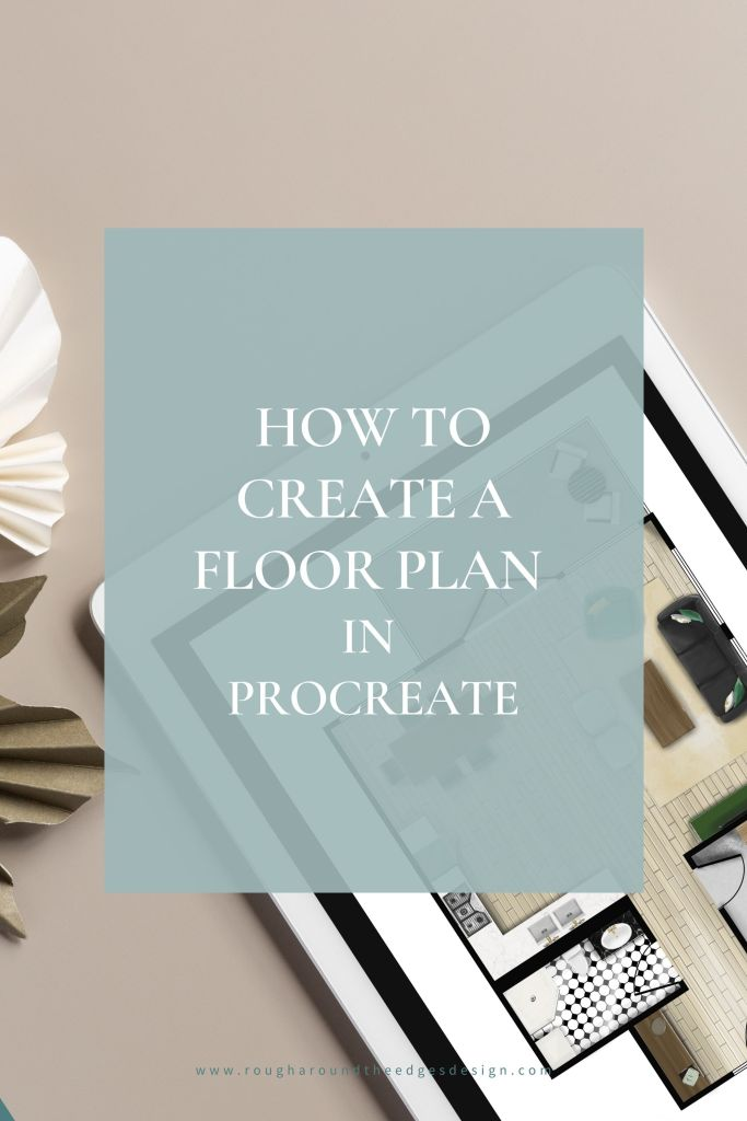 how to create a floor plan in procreate