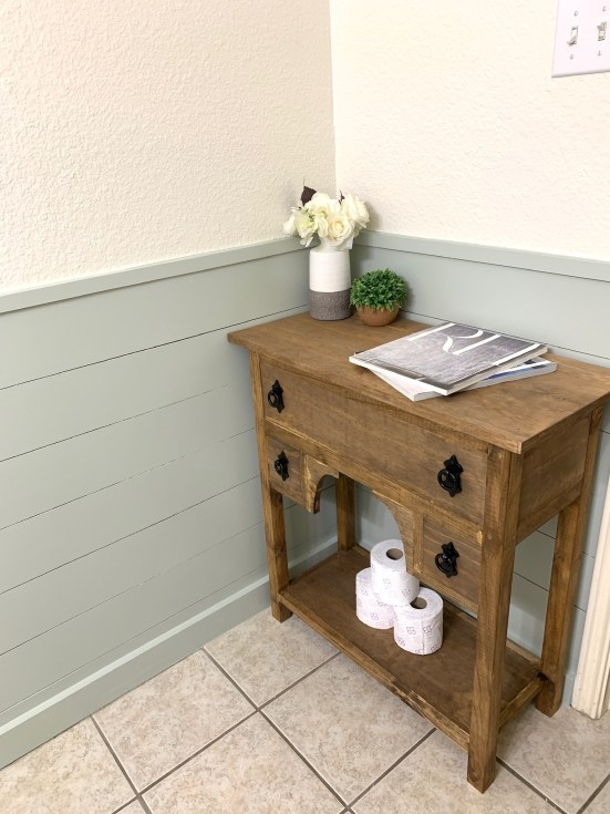 Fixer Upper Inspired Console Table