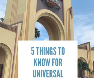 Tips for Universal Studios