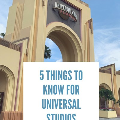 What to Know: Universal Studios, Florida
