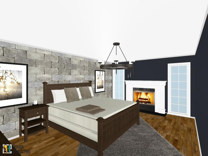 Winterfell Inspired Bedroom