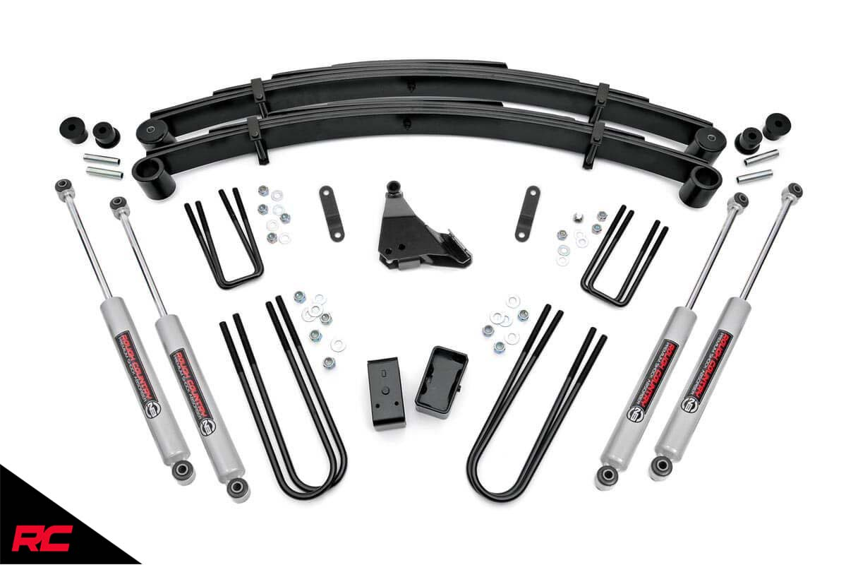 Rough Country 4 Lift Kit Fits Ford Super Duty