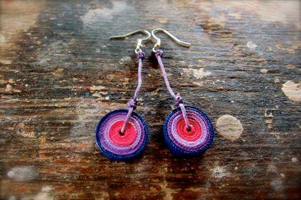 Rotelline rosa, viola, blu