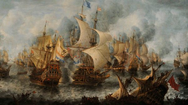 The Battle of Terheide.