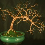 Bonsai Wire Tree Sculpture
