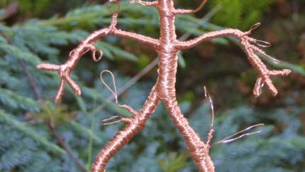 Small Ent Wire Sculpture