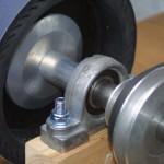 Aluminium shaft spacer tube