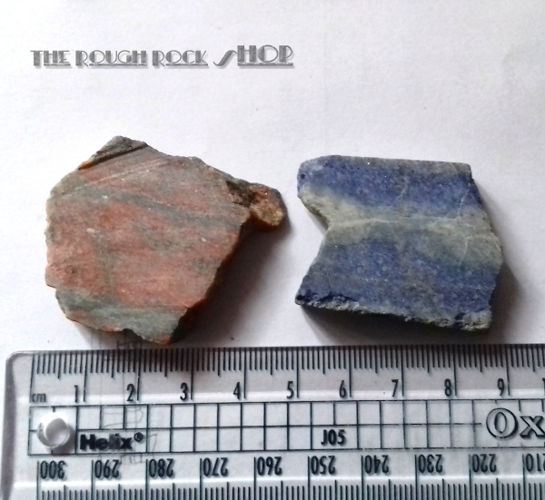 Small Rough Rock Slabs
